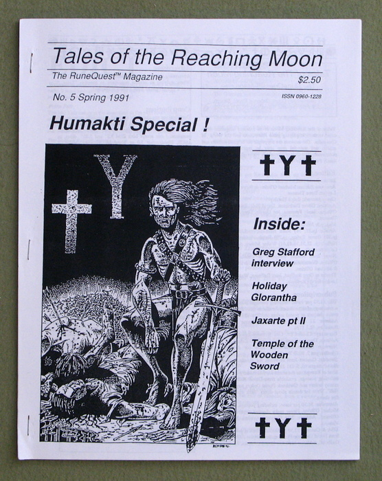 Image for Tales of the Reaching Moon, Issue 5 (Glorantha/Runequest)