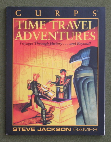 Image for GURPS Time Travel Adventures (Voyages Through History...and Beyond!)