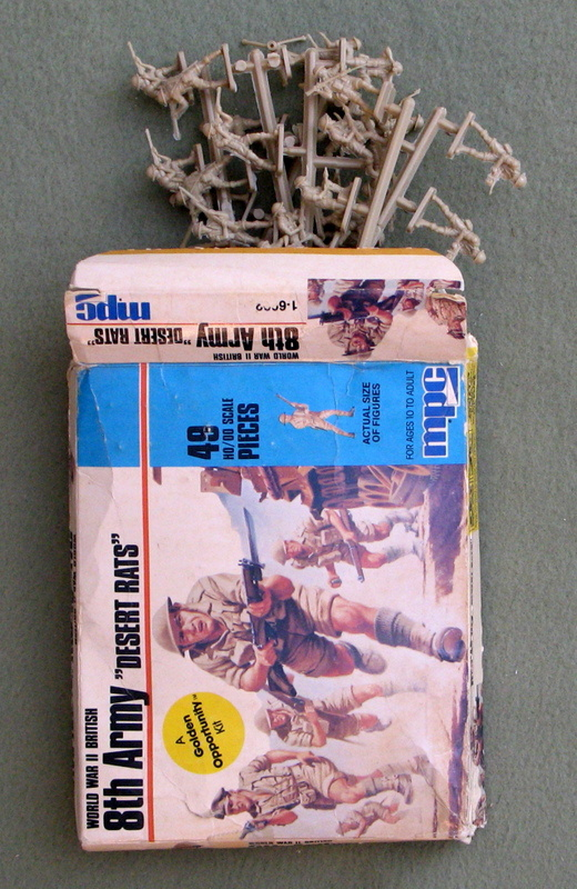 "Image for World War II British 8th Army ""Desert Rats"" (49 pieces, HO/OO Scale)"