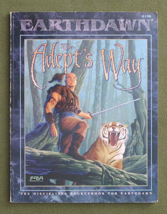 Image for The Adept's Way (Earthdawn)