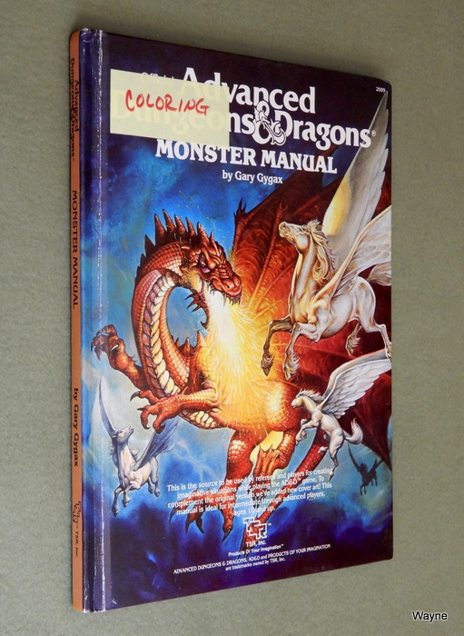 Image for Monster Manual (Advanced Dungeons and Dragons) - COLORING