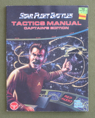 Image for Tactics Manual: Captains Edition (Star Fleet Battles)