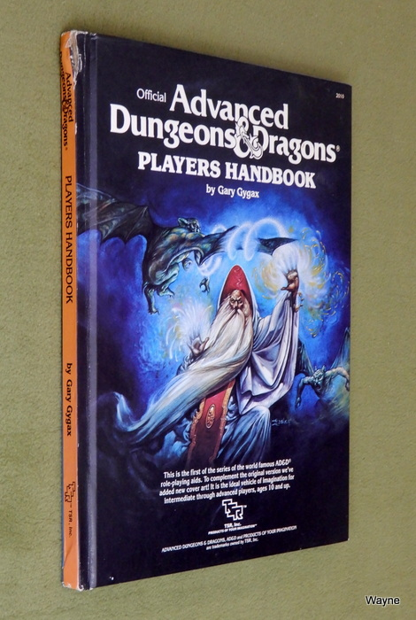 Image for Players Handbook (Advanced Dungeons & Dragons, 1st Edition Revised) - CORNER DING