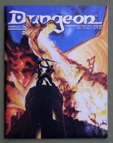 Image for Dungeon Magazine, Issue 43