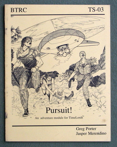 Image for Pursuit!: An adventure module for TimeLords