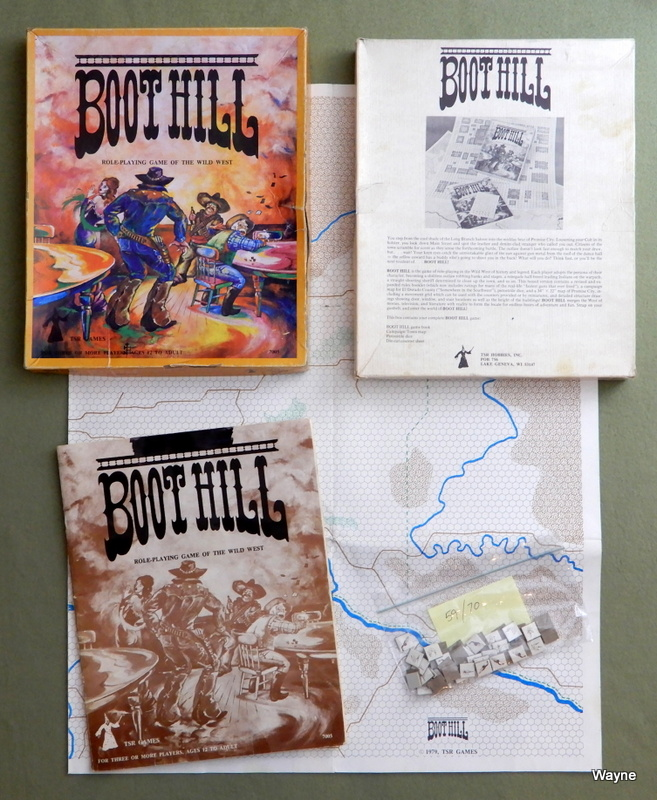 Image for Boot Hill Wild West Role-Playing Game (Second Edition) - PLAY SET