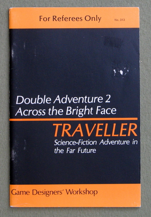 Image for Traveller Double Adventure 2: Across the Bright Face / Mission on Mithril