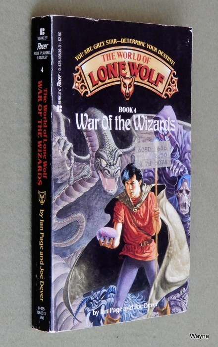 Image for War of the Wizards (The World of Lone Wolf, Book 4)