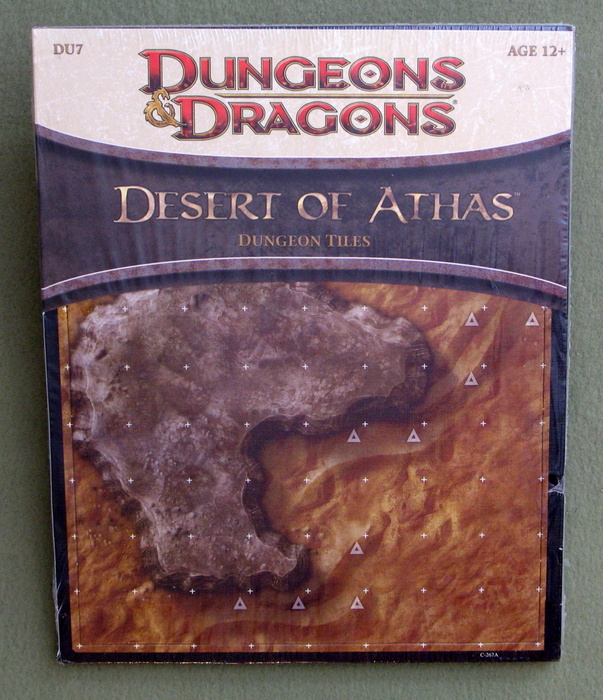 Image for Desert of Athas - Dungeon Tiles: A 4th Edition D&D Accessory