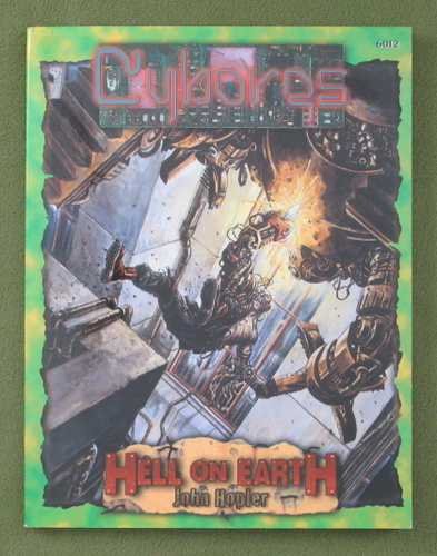Image for Cyborgs (Deadlands: Hell on Earth)