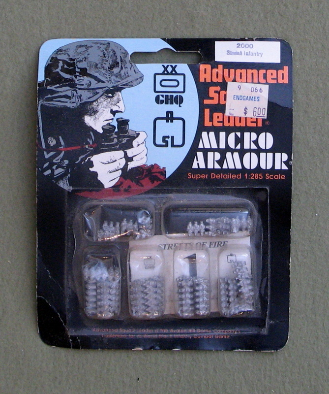 Image for Soviet Infantry - Advanced Squad Leader: Micro Armour (1:285 Scale)