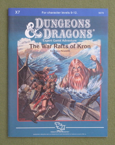 Image for War Rafts of Kron (Dungeons & Dragons Module X7)