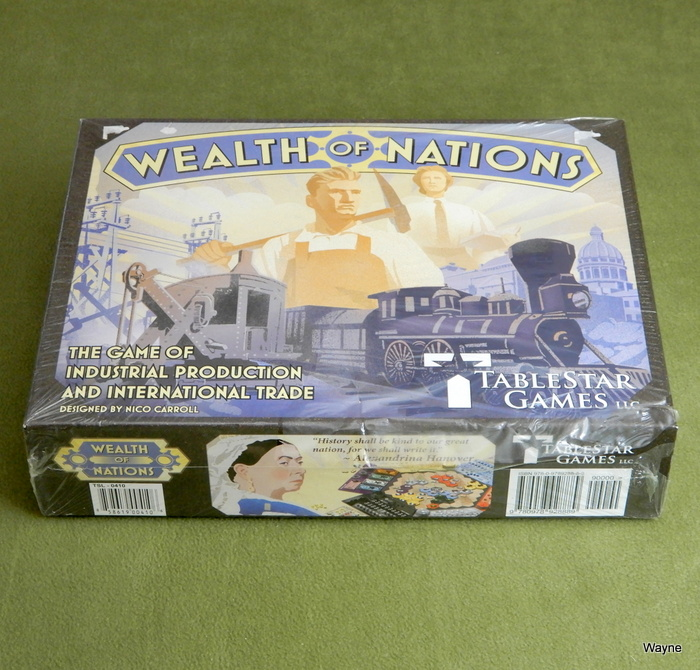 Image for Wealth of Nations: The Game of Industrial Production and International Trade