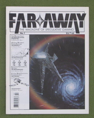 Image for Far & Away, Issue 1: The Magazine of Speculative Gaming