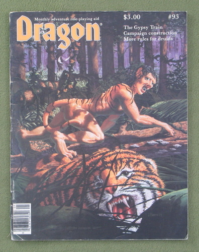Image for Dragon Magazine, Issue 93