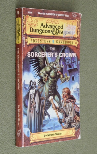 Image for The Sorcerer's Crown (Advanced Dungeons & Dragons Adventure Gamebook 9)