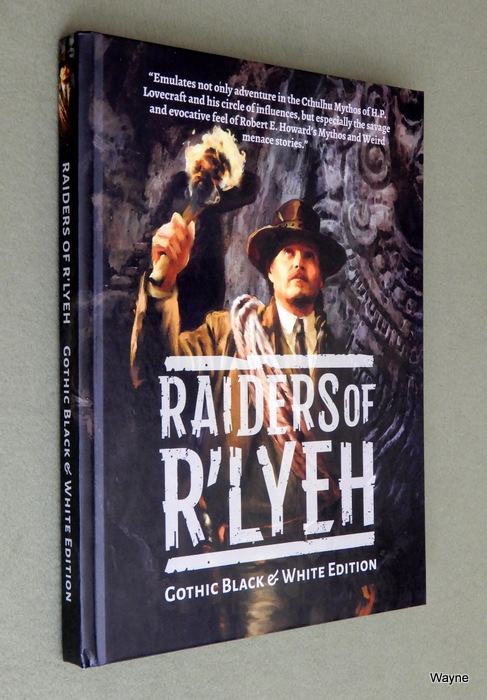 Image for Raiders of R'lyeh: Gothic Black & White Edition