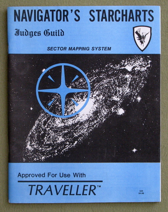 Image for Navigator's Starcharts: Sector Mapping System (Traveller)