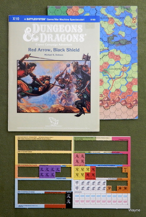 Image for Red Arrow, Black Shield (Dungeons & Dragons Supermodule X10) - INCOMPLETE
