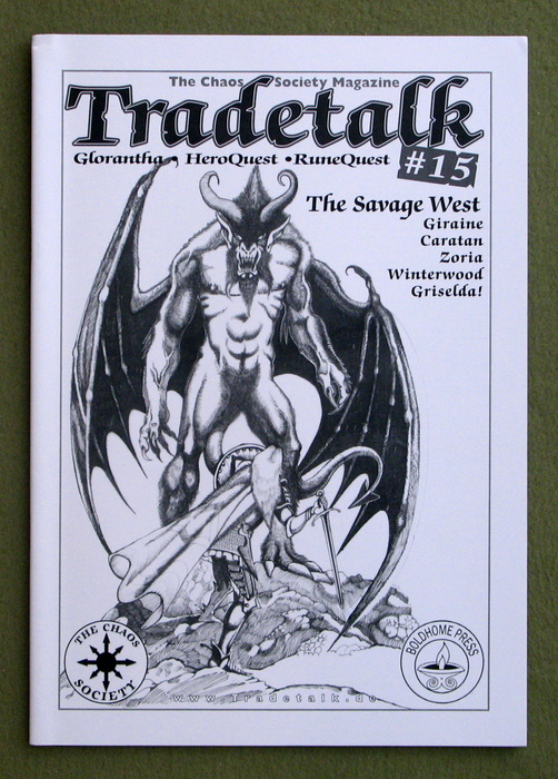 Image for Tradetalk, Issue 15 (The Chaos Society Magazine: Glorantha, Hero Wars, HeroQuest, RuneQuest)