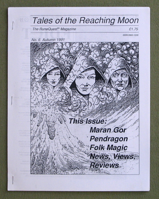 Image for Tales of the Reaching Moon, Issue 6 (Glorantha/Runequest)