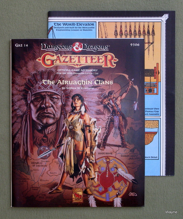 Image for The Atruaghin Clans (Dungeons & Dragons/Gazetteer Accessory GAZ14)