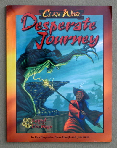 Image for Desperate Journey (Legend of the Five Rings, Clan War)