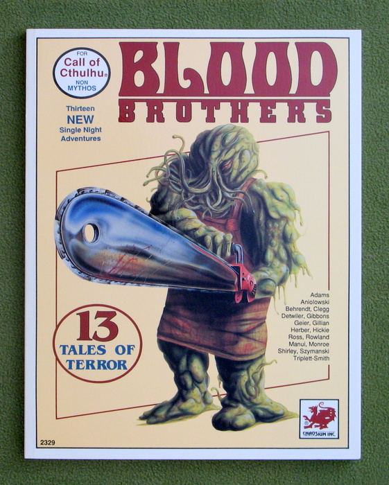 Image for Blood Brothers: 13 Tales of Terror (Call of Cthulhu)
