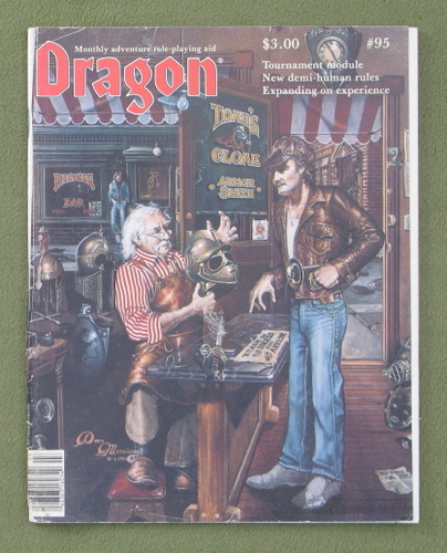 Image for Dragon Magazine, Issue 95 - COVER LOOSE