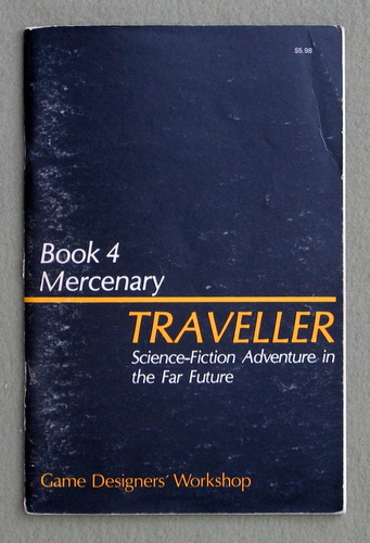 Image for Traveller Book 4: Mercenary - PLAY COPY
