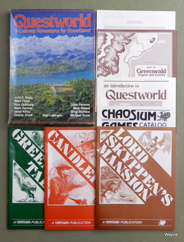 Image for Questworld: 9 Gateway Adventures for Runequest