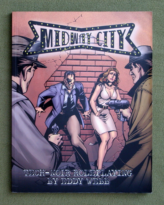 Image for Midway City (Tech-Noir Roleplaying Game)