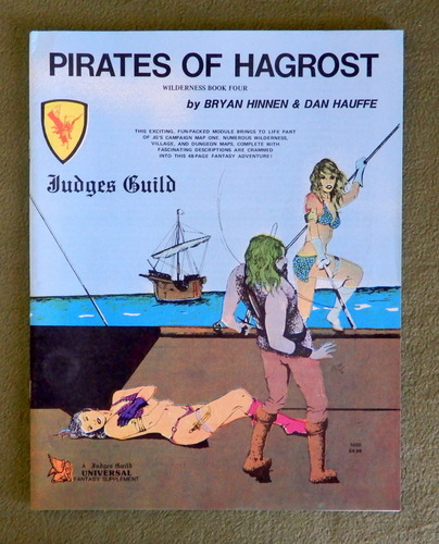 Image for Pirates of Hagrost: Judges Guild Wilderness Book Four