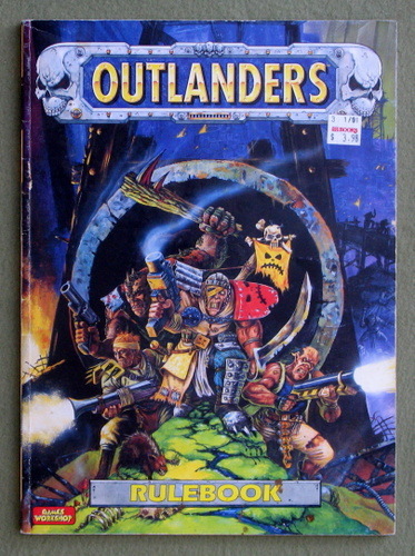 Image for Outlanders Rulebook