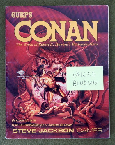 Image for GURPS Conan - FAILED BINDING