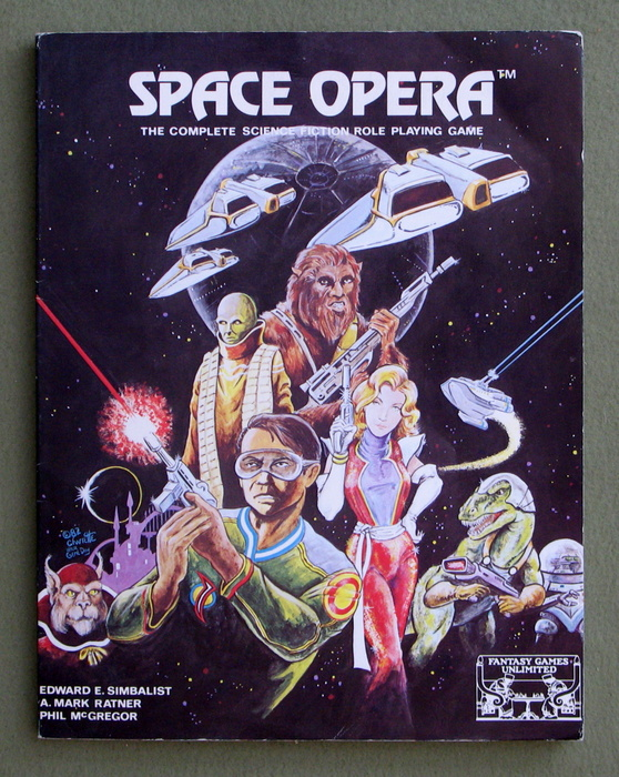 Image for Space Opera Role Playing Game