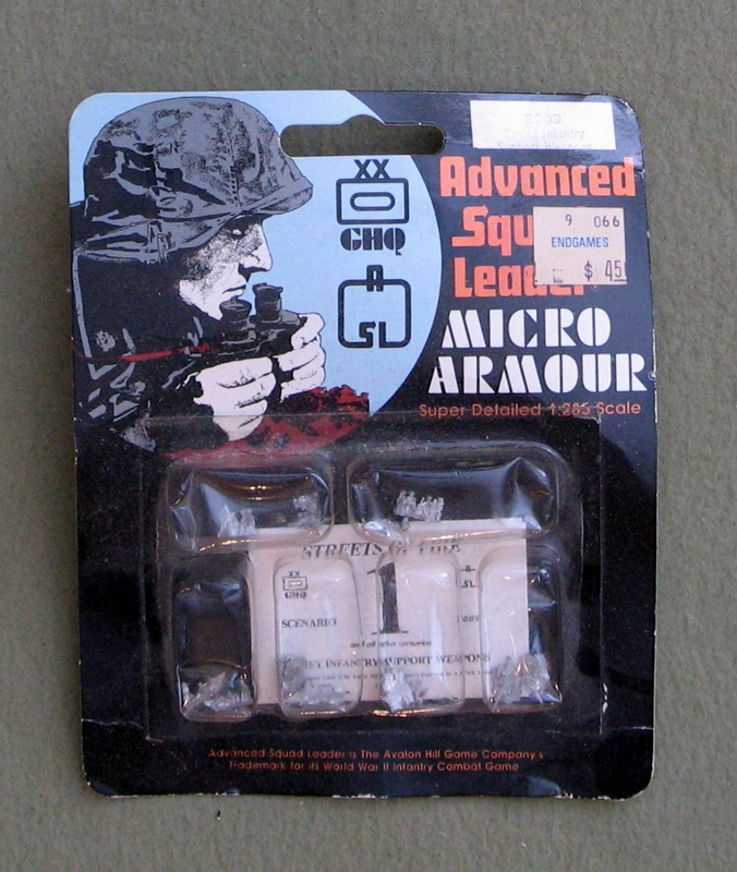 Image for Soviet Infantry Support Weapons - Advanced Squad Leader: Micro Armour (1:285 Scale)