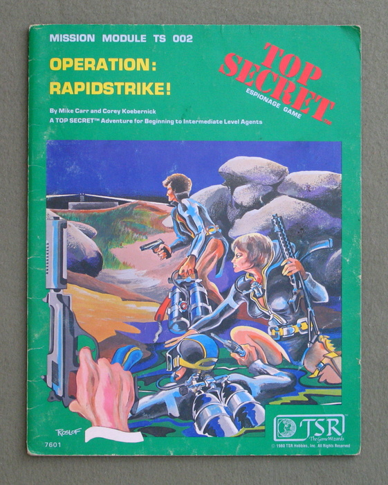 Image for Operation: Rapidstrike! (Top Secret RPG Module TS002) - PLAY COPY