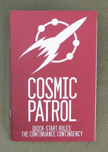 Image for Cosmic Patrol Quick-Start Rules: The Continuance Contingency (Free RPG Day 2014)