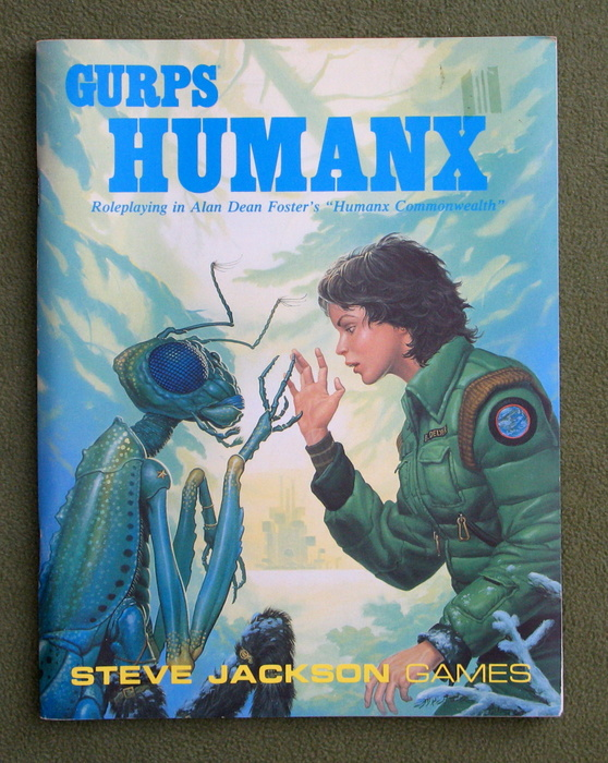 "Image for GURPS Humanx: Roleplaying in Alan Dean Foster's ""Humanx Commonwealth"""
