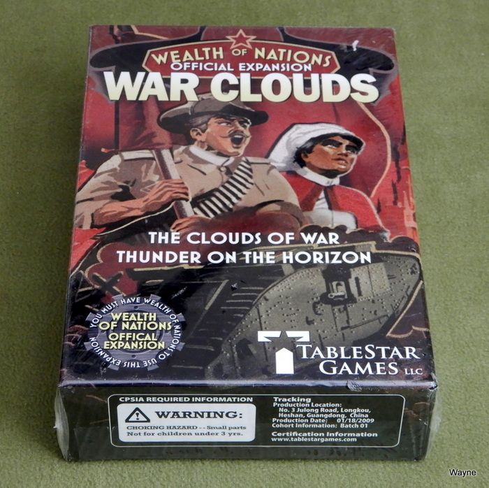 Image for War Clouds (Wealth of Nations Official Expansion)