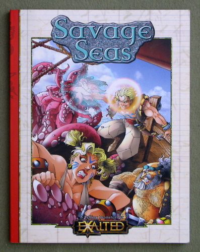 Image for Savage Seas (Exalted)