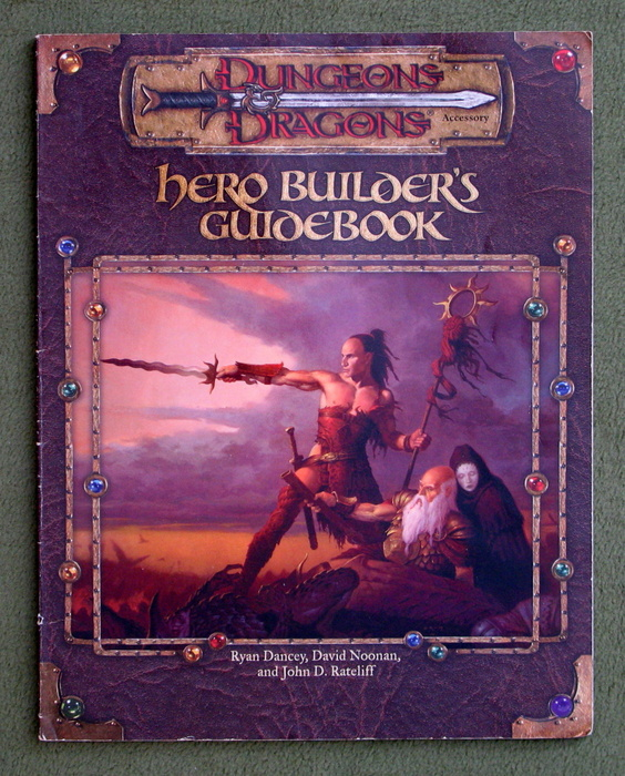 Image for Hero Builder's Guidebook (Dungeons & Dragons d20 3.0 Fantasy Roleplaying)