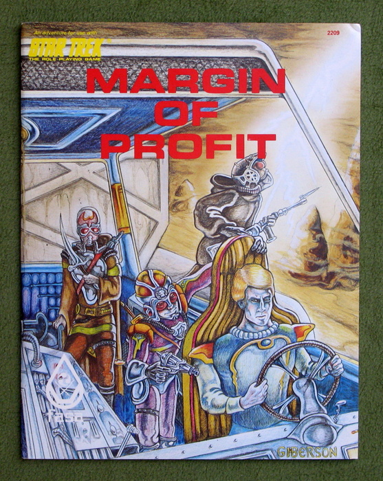 Image for Margin of Profit (Star Trek: The Role Playing Game)