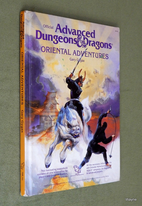 Image for Oriental Adventures (Advanced Dungeons & Dragons) - PLAY COPY