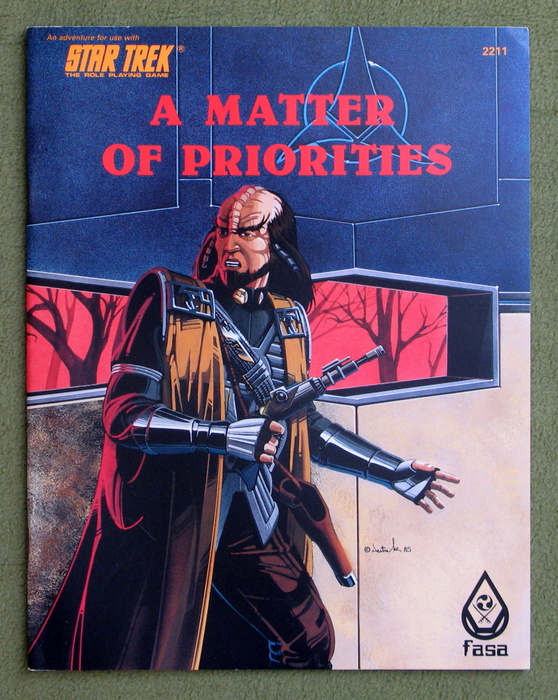 Image for A Matter of Priorities (Star Trek RPG)