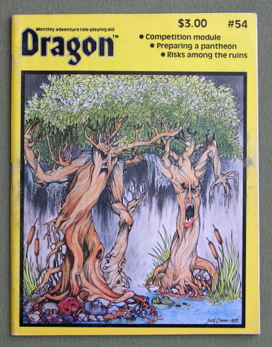 Image for Dragon Magazine, Issue 54