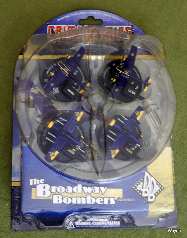 Image for Crimson Skies: The Broadway Bombers Squadron Pack