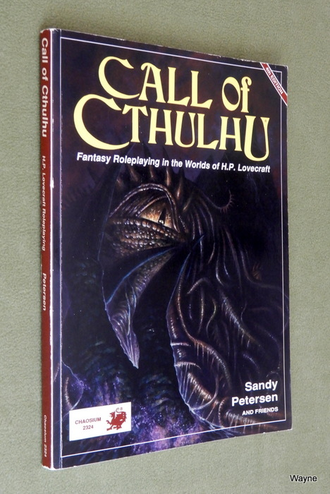 Image for Call of Cthulhu: Fantasy Roleplaying in the Worlds of H.P. Lovecraft (4th edition)