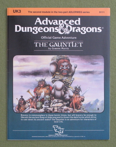 Image for The Gauntlet (Advanced Dungeons & Dragons Module UK3)